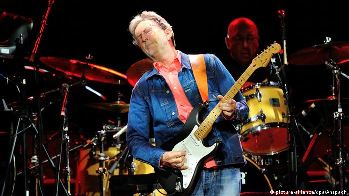 Eric Clapton in concert (picture-alliance/dpa/Anspach)