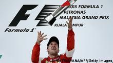 Sebastian Vettel gewinnt den Formel 1 Großer Preis von Malaysia