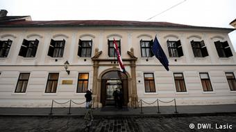 Sjedište Vlade Republike Hrvatske u Zagrebu