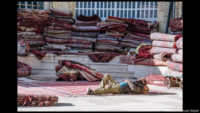 Teppichmarkt in Schiras Iran