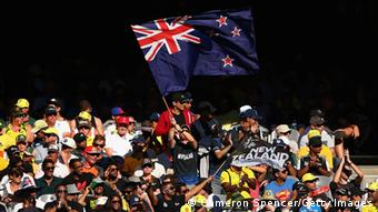 New Zealand fans at MCG