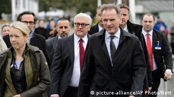 فرانک والتر اشتاینمایر، وزیر خارجه آلمان تمام ملاقاتهای خود را لغو کرد و راهی لوزان شد