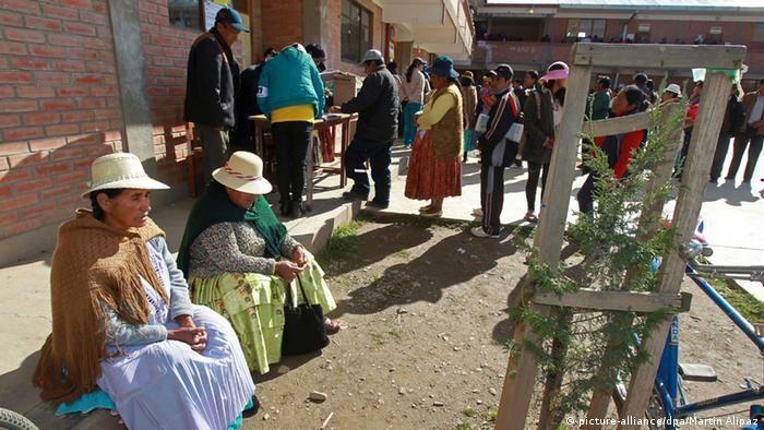 Elecciones regionales y locales en Bolivia, reto para el MAS | América  Latina | DW | 29.03.2015