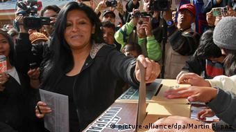 Soledad Chapetón, de Unidad Nacional, es la nueva alcaldesa de la ciudad de El Alto, otrora bastión del MAS.