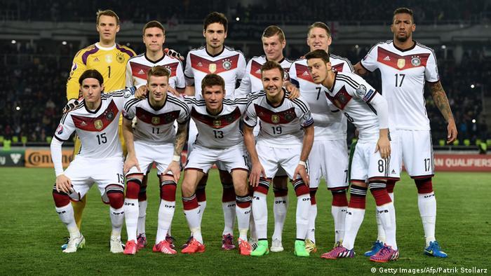 Сборная Германии в квалификации к Евро-2016