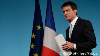 French PM Manuel Valls