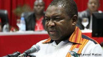 Filipe Nyusi Treff des Zentralkomitees von FRELIMO