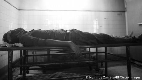 Bangladesch Blogger Washiqur Rahman ermordet s/w