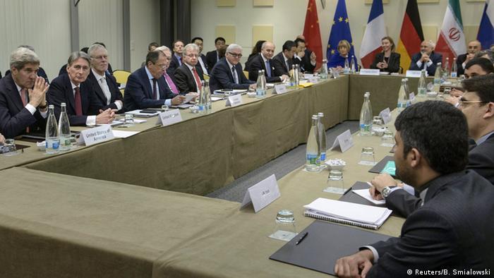 Atomverhandlungen mit Iran in Lausanne