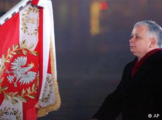 Catholic conservative Kaczynski has swung Poland to the right