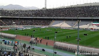 Kein Zutritt für Frauen, auch hier im Azadi-Stadion in der iranischen Hauptstadt Teheran. (Foto: farsnews)