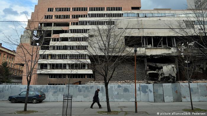 Serbien Belgrad NATO Luftangriffe (picture alliance/ZB/B. Pedersen)