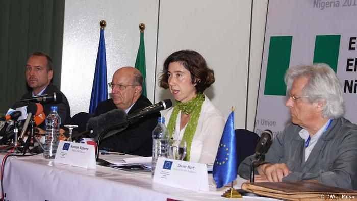 EU election observers in NIgeria