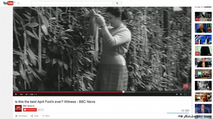 Screenshot de vídeo da BBC