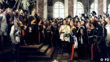 Gemälde - Die Proklamation des Deutschen Kaiserreiches