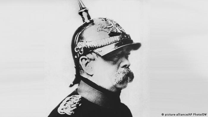 Porträt - Otto von Bismarck (picture-alliance/AP Photo/DW)