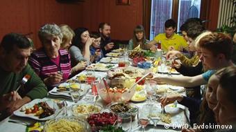 Одна из берлинских семей немцев-переселенцев из России