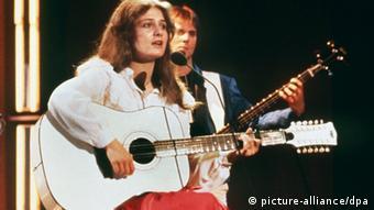 ESC performer Nicole in 1982