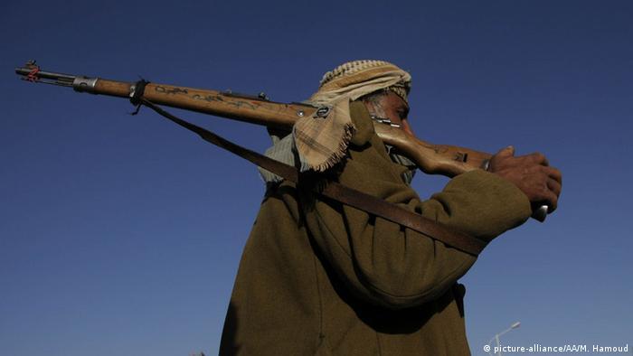 Jemen Sanaa Huthi Rebellen Stammesangehörige