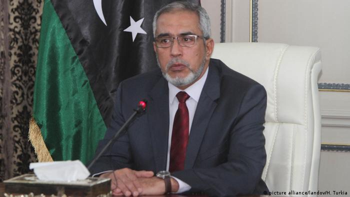 Libyen Ehemaliger Premier Omar al-Hasi