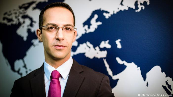 علی واعظ، تحلیلگر ارشد گروه بینالمللی بحران و مدیر پروژه ایران در این گروه