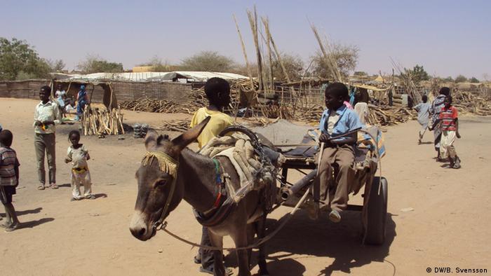 Darfur Flüchtlingslager Abu Shouk