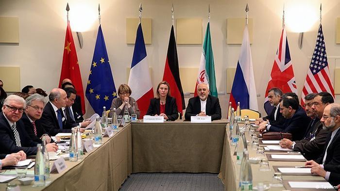 Bildergalerie Iran Atomverhandlung Schweiz Lausanne (Tasnim)