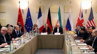 Министры иностранных дел стран шестерки во время одного из раундов переговров по ядерной программе Ирана (архив)