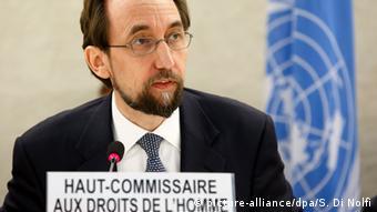 Schweiz UNHRC Seid Ra'ad al-Hussein zu Boko Haram