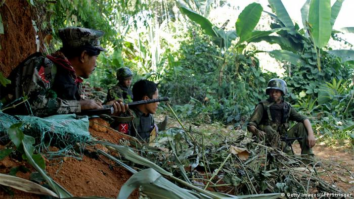 'Kachin Independence Army'- Soldaten (Foto: Getty Images)