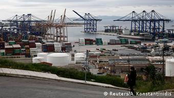 The bank shutown led to Containers being stuck in Greek ports.