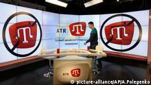 Krim, Gebäude des tatarischen Fernsehsenders ATR