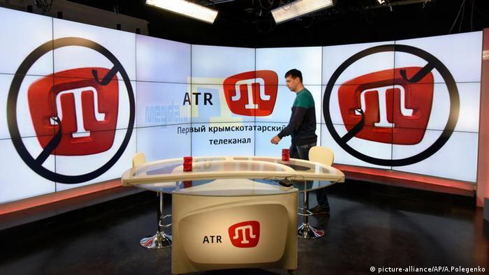 У студії кримськотатарського телеканалу ATR