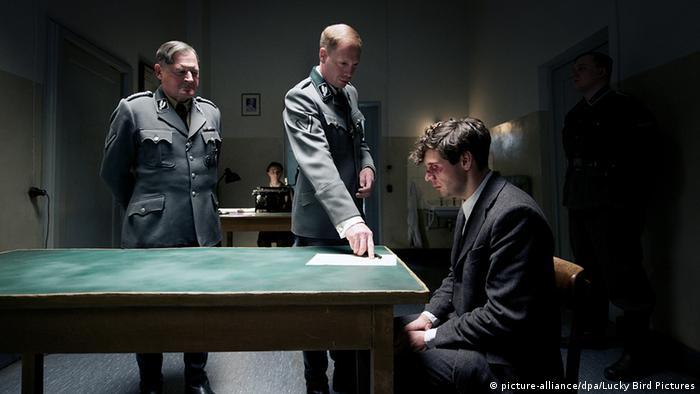 Una escena de la película sobre Elser.