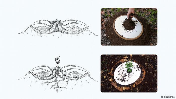 Kompostierbare Urnen