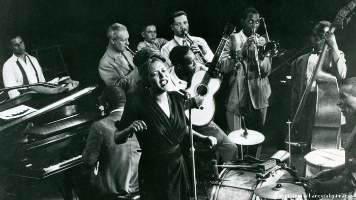 Billie Holiday concert 1959 (picture-alliance/akg-images)