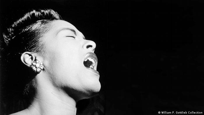 Billie Holiday Konzert um 1947 (William P. Gottlieb Collection)