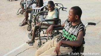 Disabled athletes in Zambia