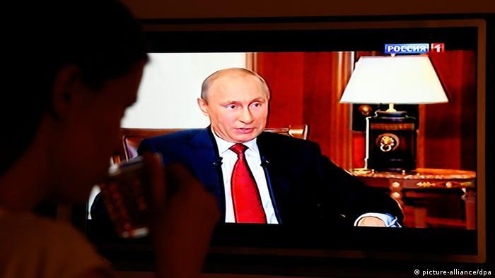 Кадр з російського пропагандистського телефільму Крим. Повернення додому