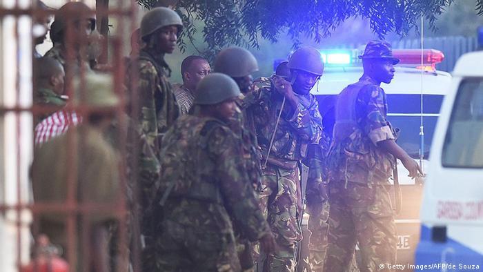 Kenia Garissa Universität Anschlag Soldaten Militär CARL DE SOUZA/AFP/Getty Images)