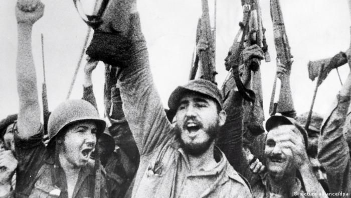 Bildergalerie Kuba Fidel Castro Havanna 1959 (picture-alliance/dpa)