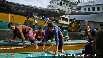 Indonesien Fischer Skaverei