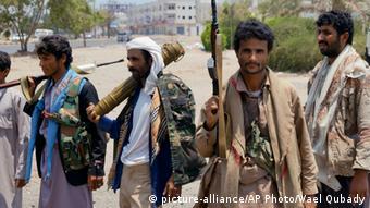 Yemen Aden Houthis
