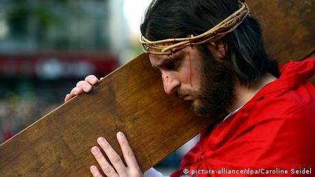 Jesus actor Gerlando Galluzzo
