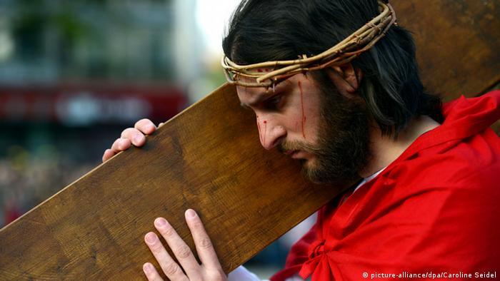 Jesus-Darsteller Gerlando Galluzzo