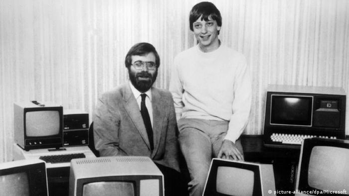 Пол Аллен (слева) и Билл Гейтс, 1981 г.