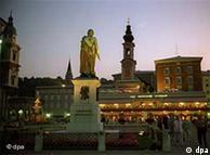 El casco viejo de Salzburgo.