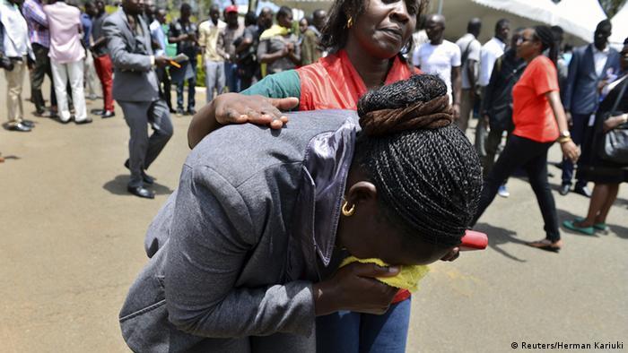 Kenia Garissa Universität Anschlag Trauer