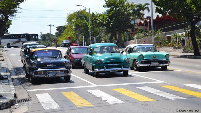 old US cars in Cuba