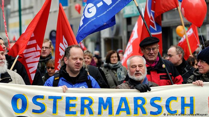 Ostermarsch 2015 in Duisburg (Foto: picture-alliance/dpa/Wagner)